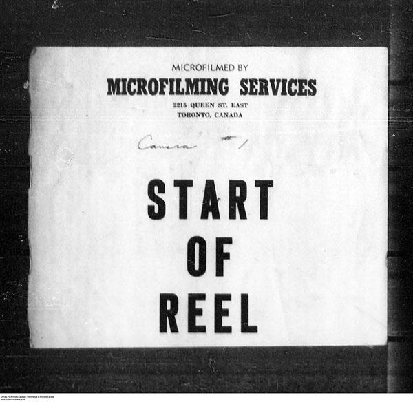 Titre: Arrivées par la frontière, formulaire 30, 1919-1924 - N° d'enregistrement Mikan: 179163 - Microforme: t-15309