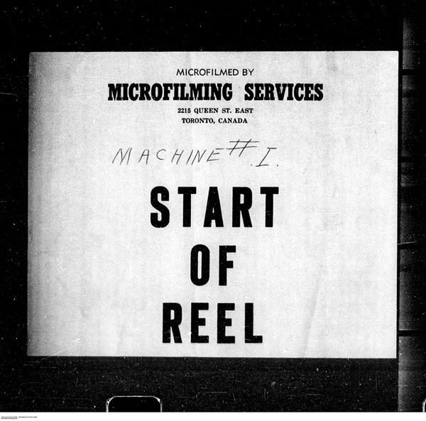 Titre: Arrivées par la frontière, formulaire 30, 1919-1924 - N° d'enregistrement Mikan: 179163 - Microforme: t-15333