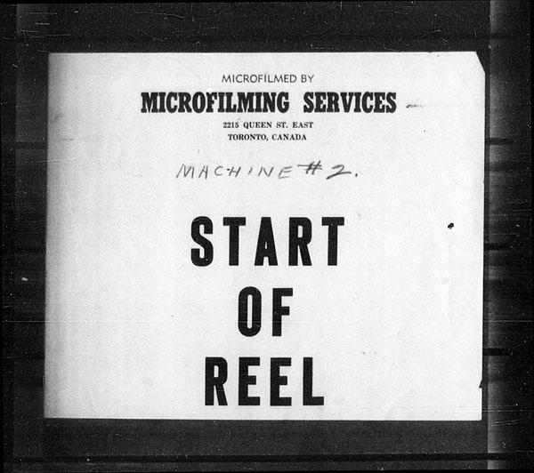 Titre: Arrivées par la frontière, formulaire 30, 1919-1924 - N° d'enregistrement Mikan: 179163 - Microforme: t-15336