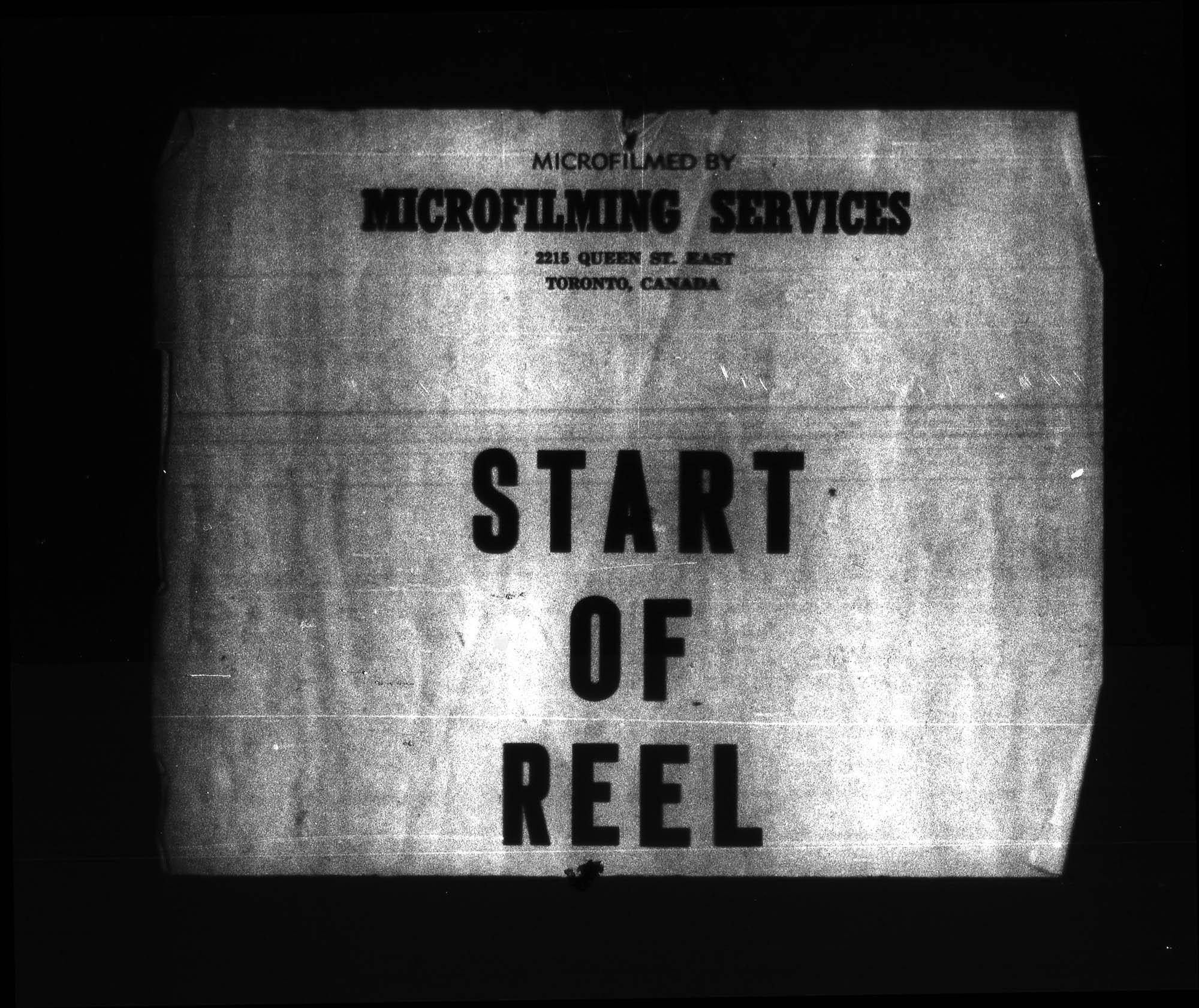 Titre: Arrivées par la frontière, 1908-1918 - N° d'enregistrement Mikan: 179161 - Microforme: t-5507