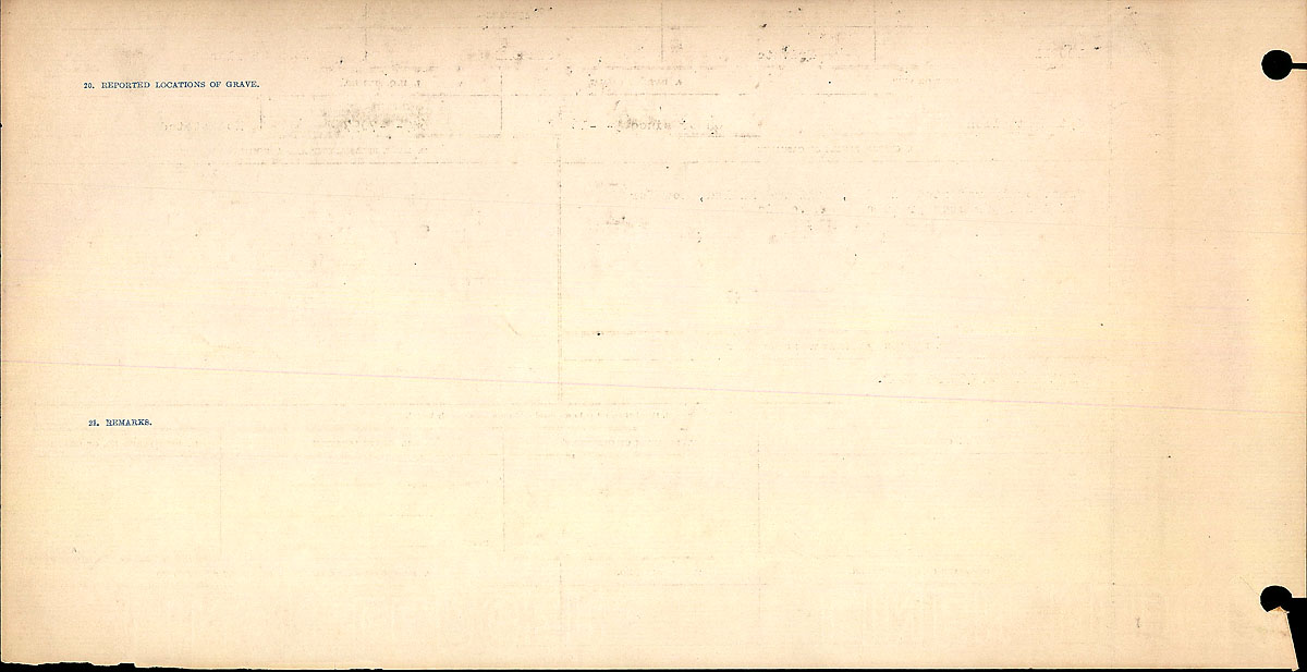 Title: Circumstances of Death Registers, First World War - Mikan Number: 46246 - Microform: 31829_B016690