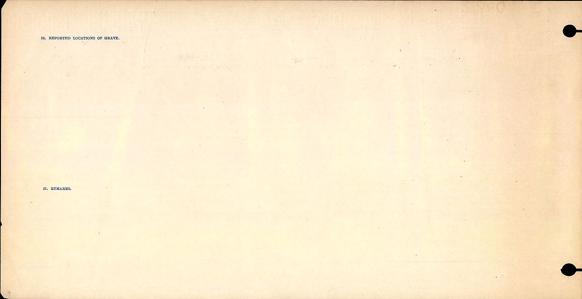 Title: Circumstances of Death Registers, First World War - Mikan Number: 46246 - Microform: 31829_B016740