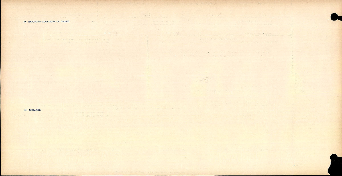 Title: Circumstances of Death Registers, First World War - Mikan Number: 46246 - Microform: 31829_B016771