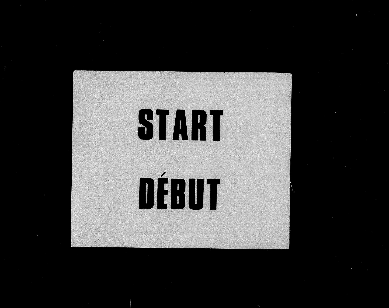 Titre: Recensement du Canada (1871) - N° d'enregistrement Mikan: 194056 - Microforme: c-9923